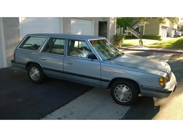 1988 Plymouth Reliant Wagon Project