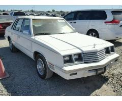 1984 Dodge 600 Luxury Classic Sedan
