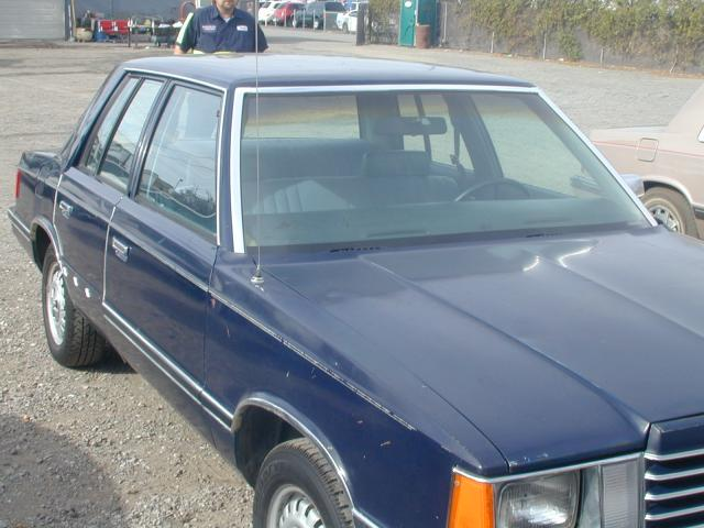 1983 Dodge Aries Sedan Norco K Cars And Parts