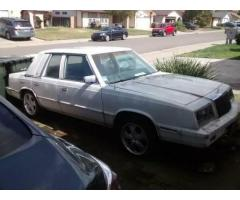 1984 Chrysler LeBaron Sedan Rare Running Project