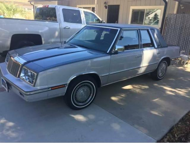 1985 Chrysler LeBaron Sedan Time Capsule