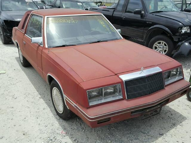 1984 Chrysler LeBaron Coupe TO BE CRUSHED 08/01/17