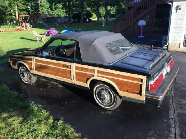 1984 Chrysler LeBaron Town and Country Convertible Turbo