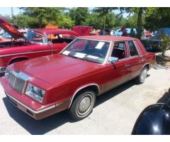 1985 Chrysler LeBaron Sedan Time Capsule-LAST ONE SC