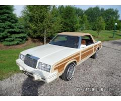 1984 Chrysler LeBaron (Woody) Convertible