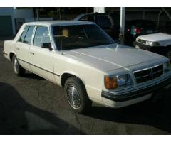 1985 Dodge Aries Sedan Classic
