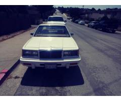 1987 Chrysler LeBaron Sedan Classic-Marina,California